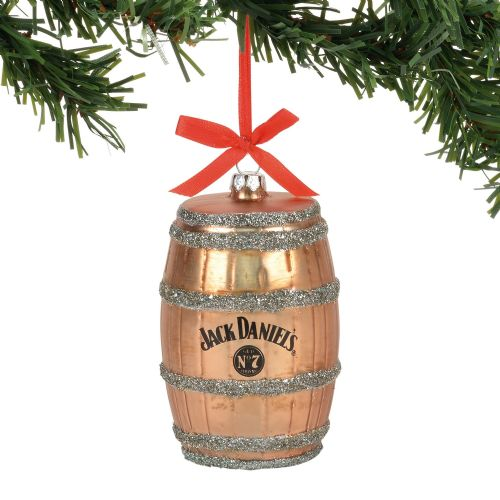 Department 56 Jack Daniel's Golden Barrel Ornament